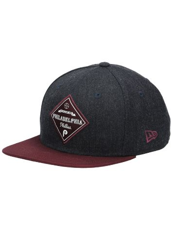 New Era Heather Coop Patch Cap