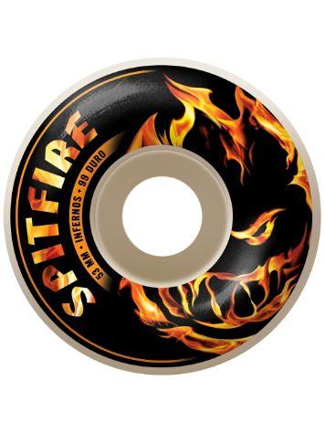 Spitfire Infernos White 53mm Rollen