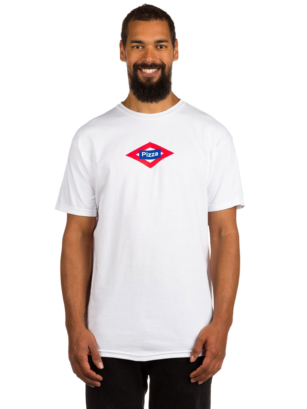Buy pizza skateboards sol t shirt online at blue for Sol s t shirt