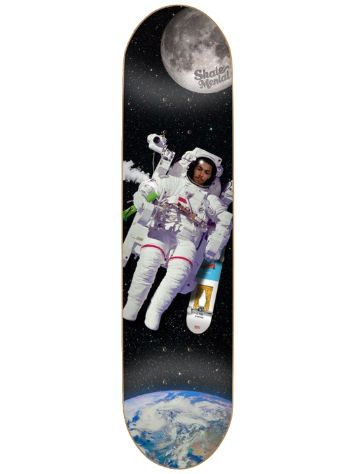"Skate Mental Curtin Spaced Out 8.25"" Skateboard Deck"
