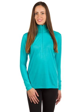 Norrona Wool Zip Neck Tech Shirt