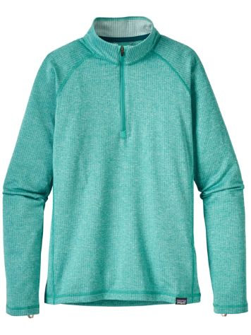 Patagonia Cap Hw Zip Neck Fleece Pullover Girls