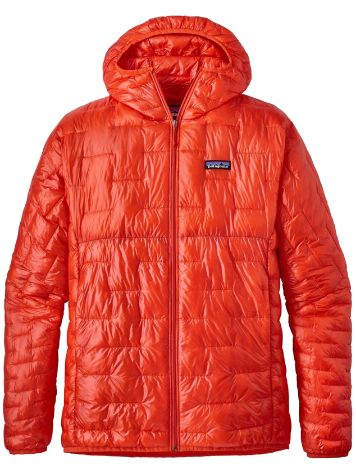 Patagonia Micro Puff Hooded Fleece Jacket