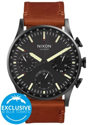 Nixon The Ambassador Leather Uhr