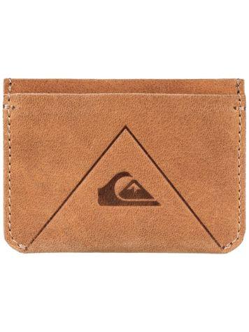 Quiksilver Leather Card Holder Geldbörse