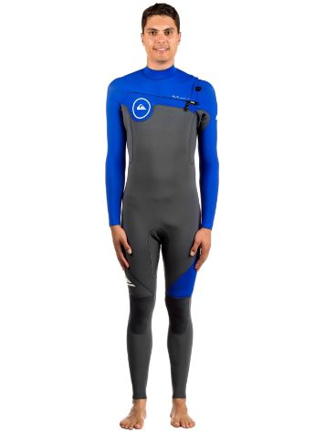 Quiksilver 3/2 Syncro Series Chest Zip Gbs Neoprenanzug