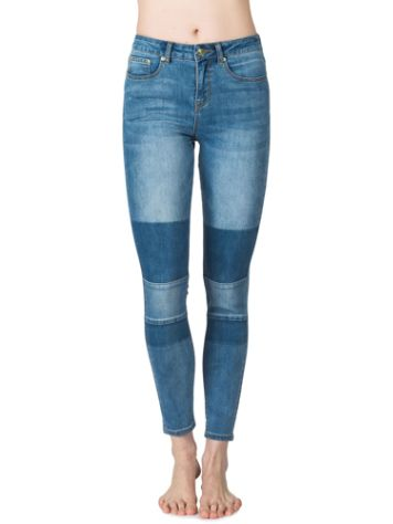 Rip Curl Pins High-Patched Indigo Jeans