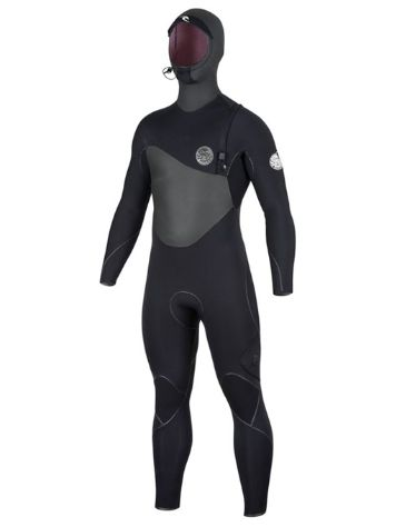 Rip Curl Flash Bomb 6/4 Hood Chest Zip Wetsuit