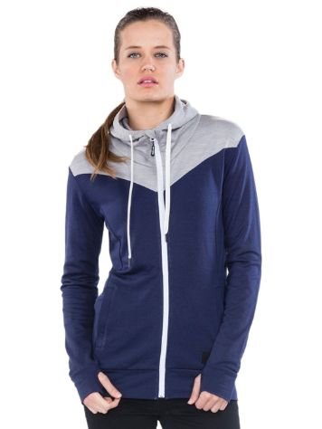Mons Royale Merino Covert Mid-Hit Zip Hoodie