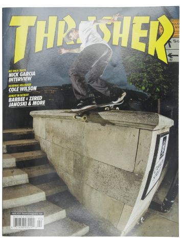 Thrasher Thrasher Issue Februar