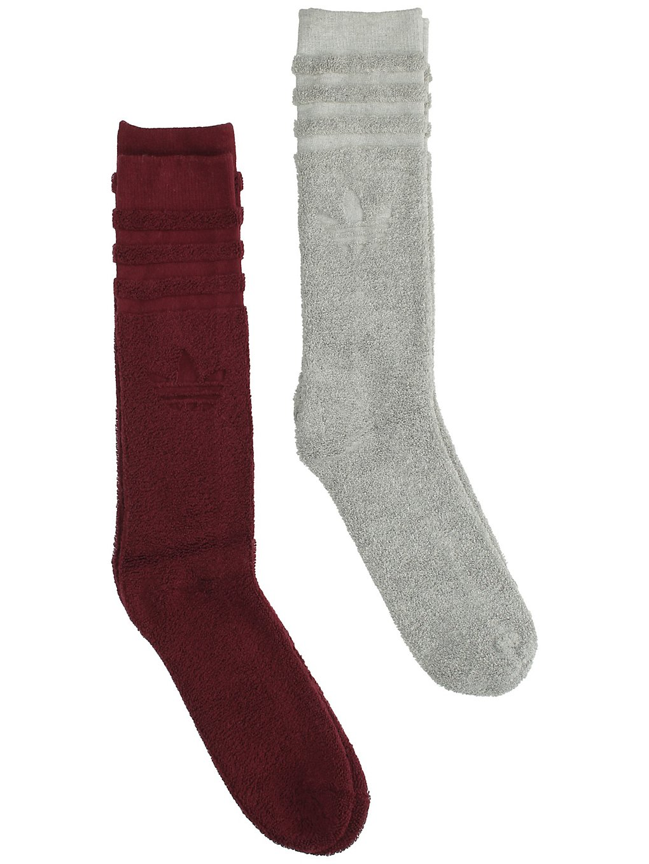 Image of adidas Originals Winter Crew 2PP Socks