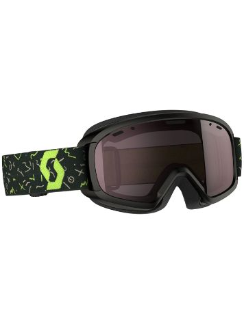 Scott Witty Black/Green Youth Goggle jongens