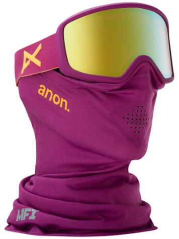 Anon Deringer MFI Purple (+Facemask) Goggle