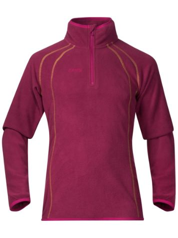 Bergans Ombo Half Zip Tech Tee LS Girls