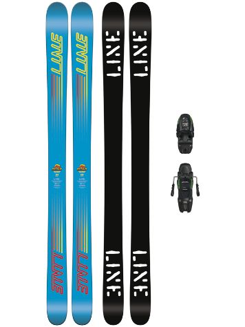 Line Gizmo 143 + M7.0 Free 85mm 2018 Youth Freeski set