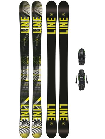 Line Tom Wallisch Shorty 147 + M7.0 Free 85mm 2018 Youth Conjunto freeski