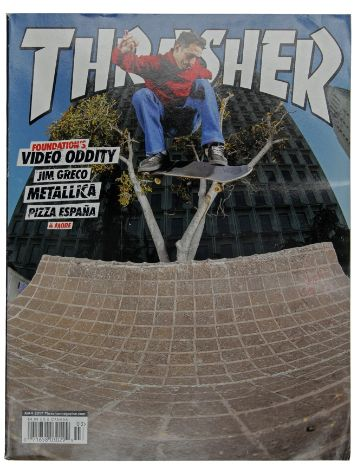 Thrasher Thrasher Issue 2017 March