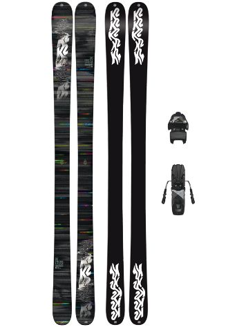 K2 Press 149 + Free Ten 85mm blk/wht 2018 Freeski-Set
