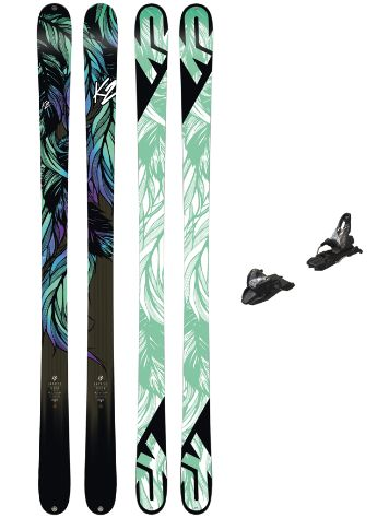 K2 Empress 169 + Free Ten 85mm blk/wht 2018 Freeski set