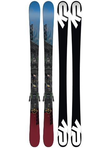 K2 Poacher Jr. 149 + Fdt 7 85mm 2018 Boys Freeski set