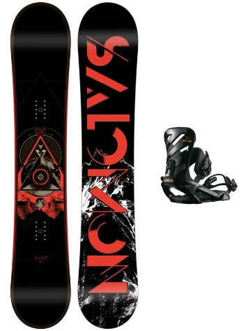 Salomon Sight 158W + Rhythm Black L 2018 Conjunto snowboard