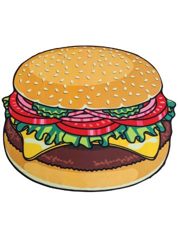 Big Mouth Toys Burger Beach Towel