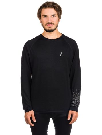 Pally'Hi Merino Mt St.Grid Tech Tee LS