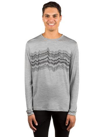 Odlo Natural 100% Merino Warm Print Tech t-shirt LS LS