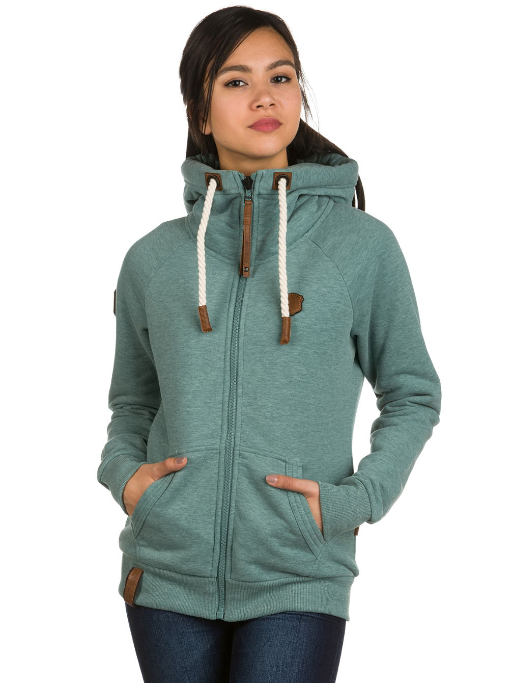 kup naketano brazzo ix zip hoodie online na blue. Black Bedroom Furniture Sets. Home Design Ideas