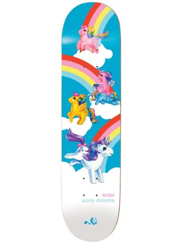 "Enjoi My Little Pony Dreams R7 8.125"" Deck"