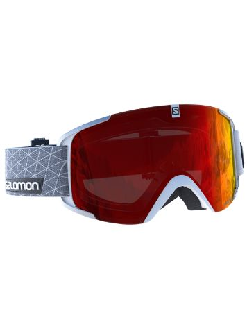 Salomon X View White Goggle