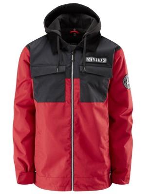 Westbeach Dauntless Jacket chilli red / black Gr. M