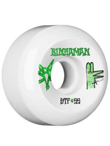 Bones Wheels Stf Bingaman Burney 83B V5 55mm Wheels