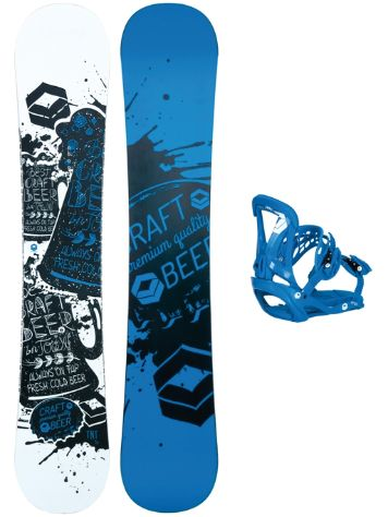 FTWO TNT 153 + Sonic M Blue 2018 Snowboard Set