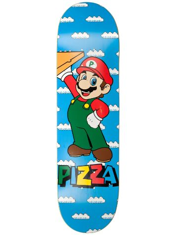 "Pizza Skateboards Mario 8.375"" Deck"