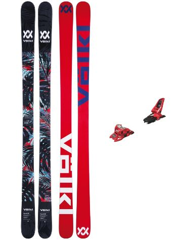 Völkl Revolt 85 171 + Squire11 90mm Red 2018 Freeski-Set