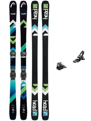 Head The Show 154 + AAAttack 11 90mm 2018 Freeski-Set