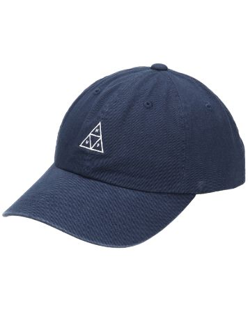 HUF Stone Wash Triple Triangle Curve Visor Cap