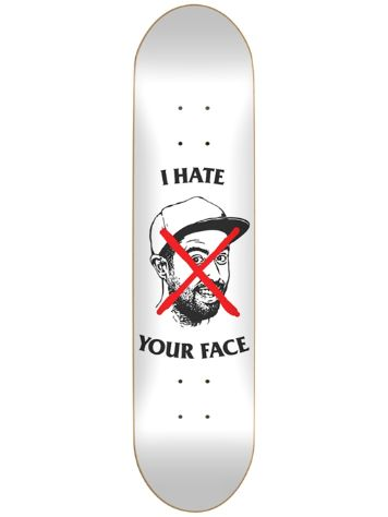 "Skate Mental Staba I Hate Your Face 8.25"" Skateboard"