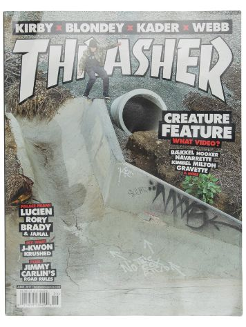 Thrasher Thrasher Issue 2017 June