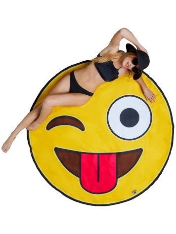 Big Mouth Toys Emoji Beach Towel