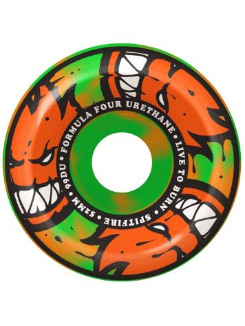 Spitfire Formula Four 99D 53mm Afterburners Orange/Gr