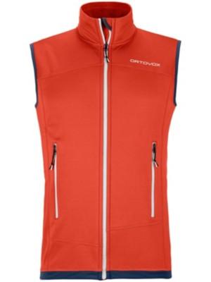 Ortovox Light Fleece Vest crazy orange Gr. XL