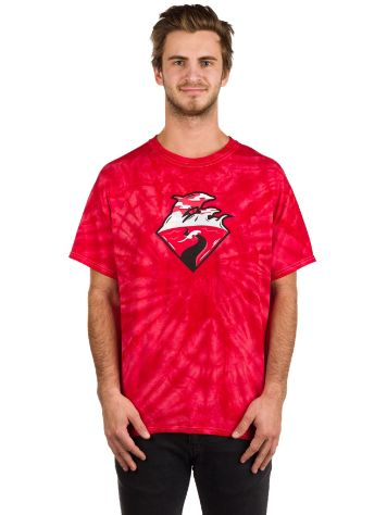 Pink Dolphin Waves Horizon Camiseta