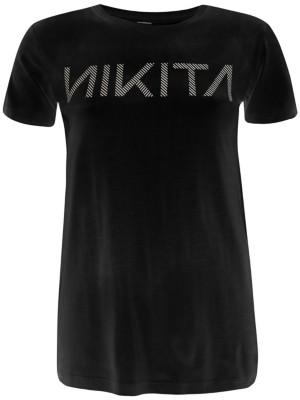 Nikita Dusk Quartz T-Shirt black Gr. XS