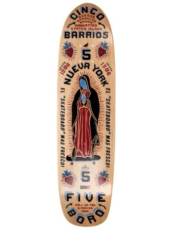 "5boro Cinco Barrios Cruiser 8"" x 31.5"" Large Deck"