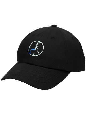Pink Dolphin Pose Peace Dad Cap