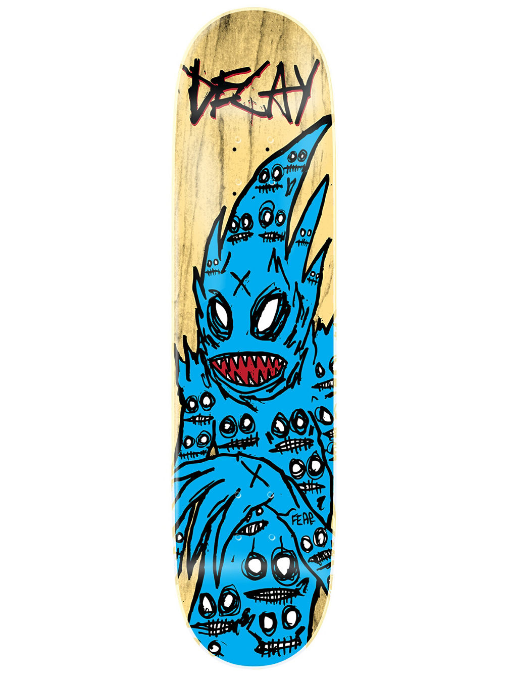 "Demon Blue 8.75"" Skateboard Deck"
