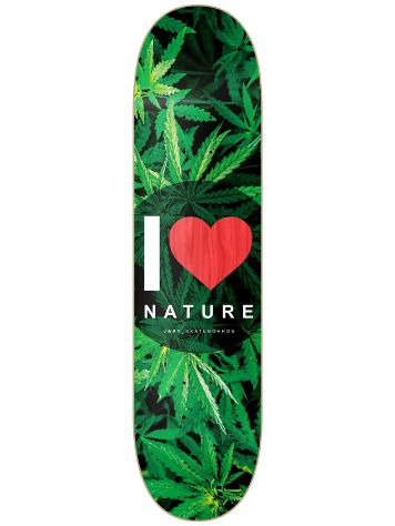 "Jart Nature 8.0"" Red MPC Deck"