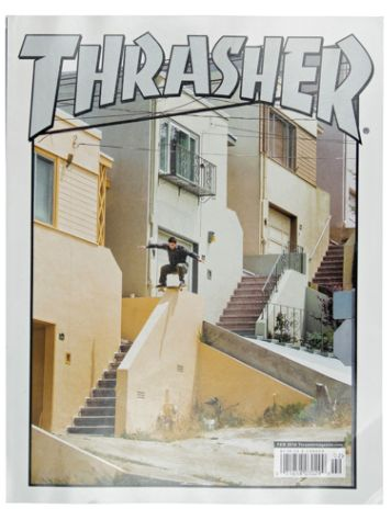 Thrasher Thrasher Issues Februar 2018